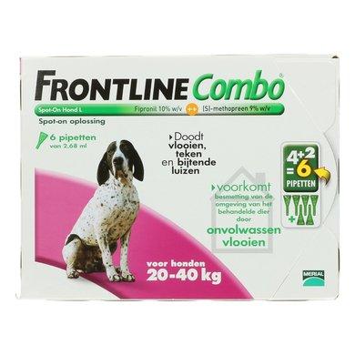 Frontline Combo Spot-on Hond L 20-40kg 6 Pipetten