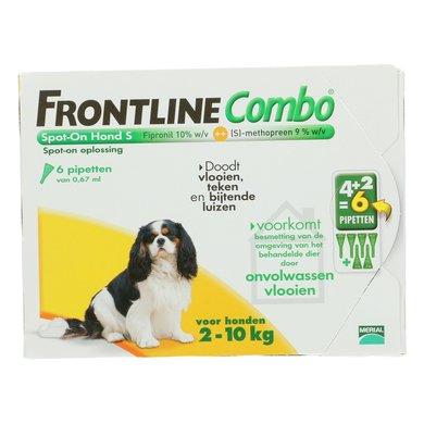Frontline Combo Spot-on Hond S 2-10kg 6 Pipetten
