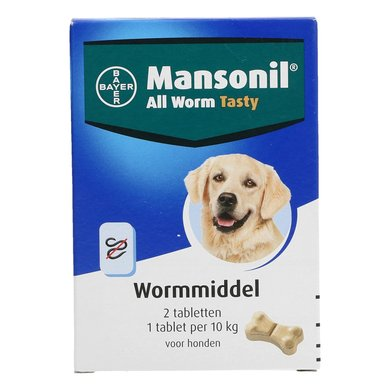 Mansonil All Worm Hond Flavour