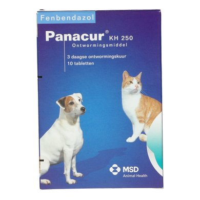 Panacur KH 250mg Chien/Chat 10 Pièces