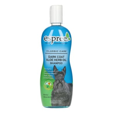 Espree Dark Coat Aloe Oil Shampoo Hond 355ml