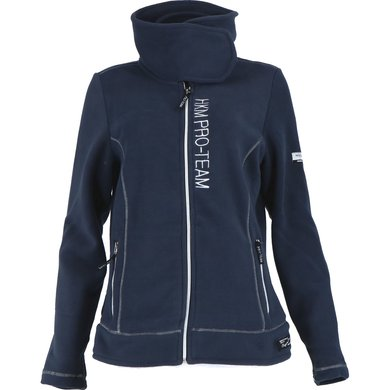 HKM Pro Team Fleece Jacket Kufstein Blue 176
