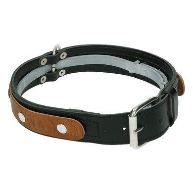 Makadi Smart Collar mit Druckknopf Braun L
