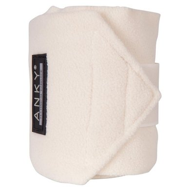 Anky Bandages Basic Fleece Set van 4 Offwhite 3,5m