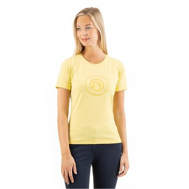 ANKY T-Shirt Logo Dames Lime Light S