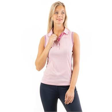ANKY Poloshirt Mouwloos Dames Candy Pink M