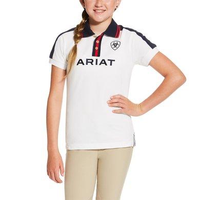 Ariat New Team Polo R White