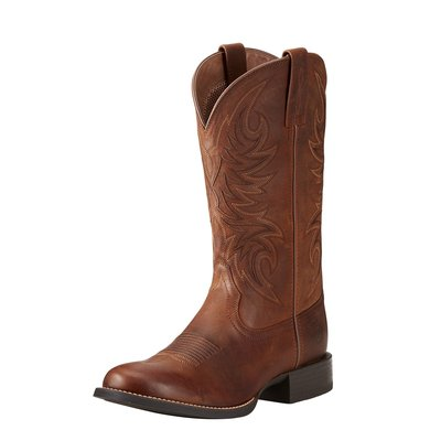 Ariat Westernboot Sport Horseman Man's Brown 46\D