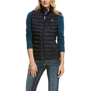 Ariat Bodywarmer Ideal Down Woman Overall Navy