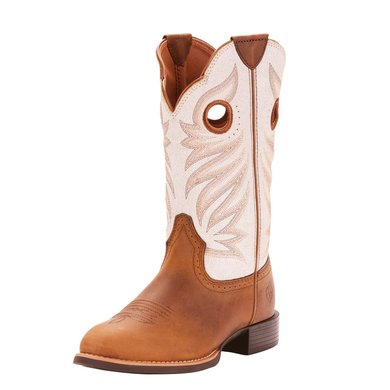 Ariat Westernlaars Round Up Stockman Woman's Peanut 42,5\B