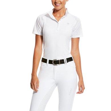 Ariat Turniershirt Marquis Vent SS Woman's White Volte S\R