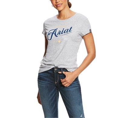 Ariat Shirt Logo Woman's Heather Grey
