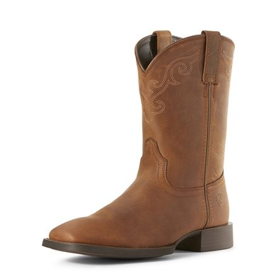 Ariat Westernboot Roper Wide Square Toe W DBrown 42,5\B