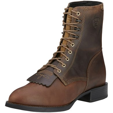 Ariat Western Heritage Lacer D Distressed Brown 46