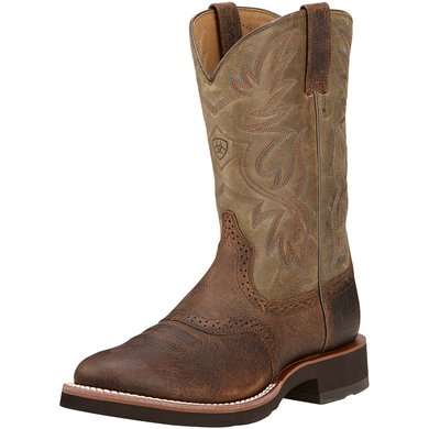 Ariat Western Heritage Crepe D Earth / Brown Bomber 43