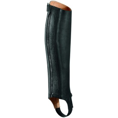Ariat Close Contact Half Chap Oiled Black Ss