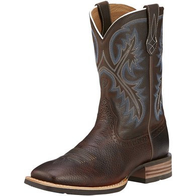 Ariat Western Quickdraw D Brown Oiled Rowdy 46