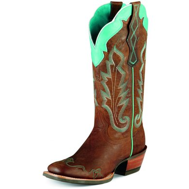 Ariat Western Caballera B Weathered Brown 39
