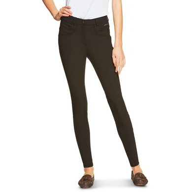 Ariat Olympia Front Zip Breeches Black