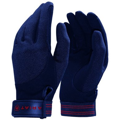 Ariat Gloves Tek Grip Navy