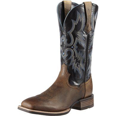 Ariat Western Tombstone D Earth / Black 46