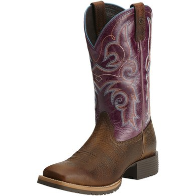 Ariat Western Hybrid Rancher B Brown Oiled Rowdy / Fig 38
