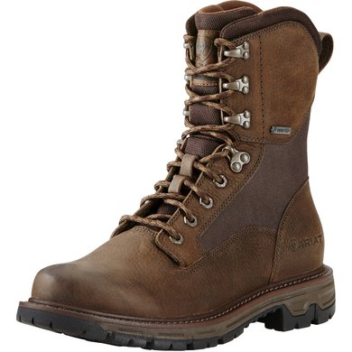 "Ariat Conquest 8"" GTX Pebbled Brown EE 44"