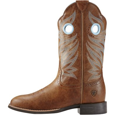 Ariat Western Round Up Stockman B Wood 39