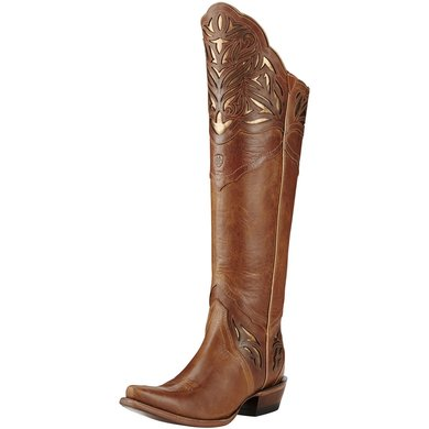 Ariat Western Chaparral B Brilliant Buff / Rose Gold 40