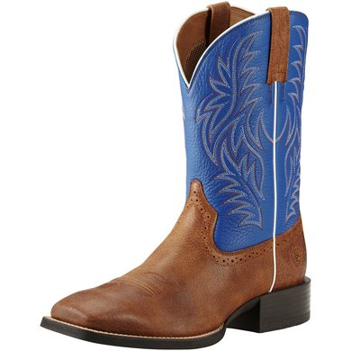 Ariat Western Sport Western Wst D Angus Brown / Royal 42
