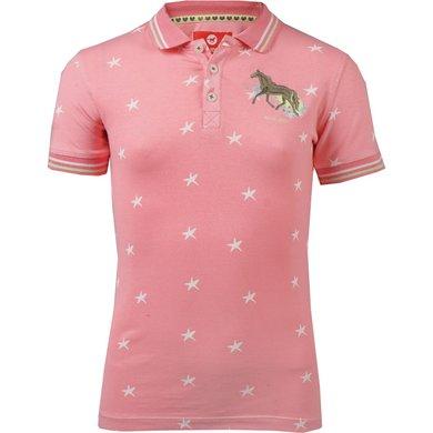 Red Horse Polo Shirt Venice Salmon 164