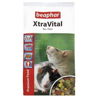 Beaphar Rattenfutter Xtravital Premiumfutter 500g