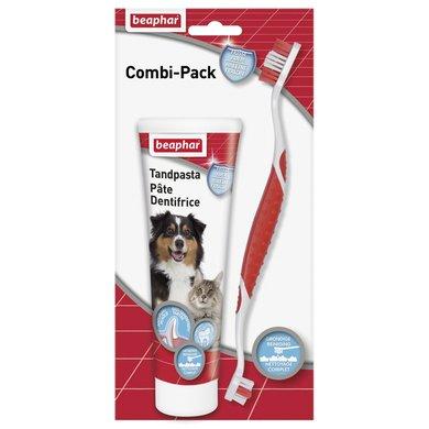 Beaphar Tandpasta + tandenborstel combi pack