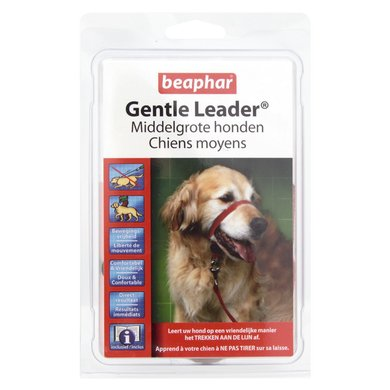 Beaphar Dog Collar Gentle Leader Red