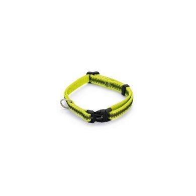 Beeztees Halsband Cabo Reflecterend Neon Geel