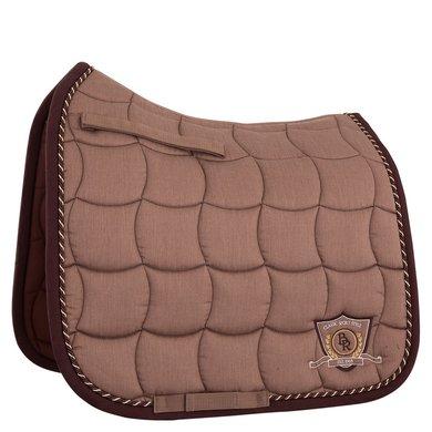 BR Saddlepad Dressage Melange Classic M Tea/Chocolate Full