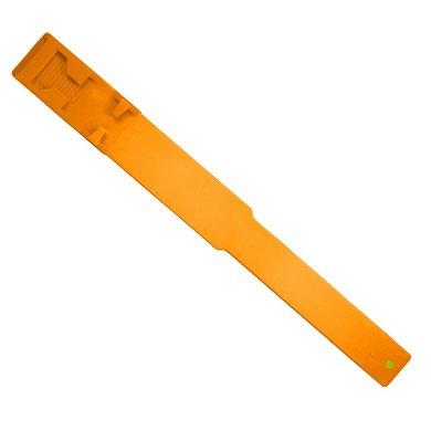 Agradi Ruban de Reconnaissance pour Vache Plastique Orange