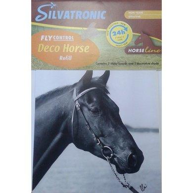 Silva Horse Blue Deco Refill