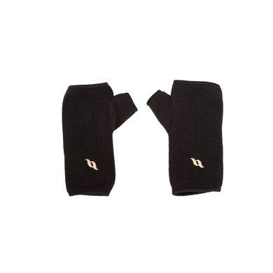 Back on Track Fleece Handschoenen zonder Vingers Black