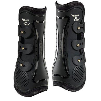 Back on Track Tendon Boots Royal per Pair Black M Cob
