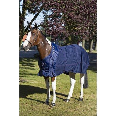 Back on Track Mesh Rug Horse Blue
