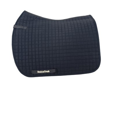 Back on Track Saddle Cloth Dressage Black Full