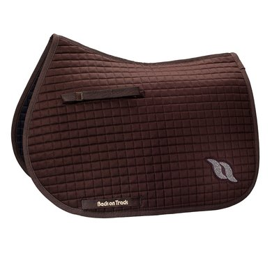 Back on Track Saddle Cloth Jumping Brown Jewel Full