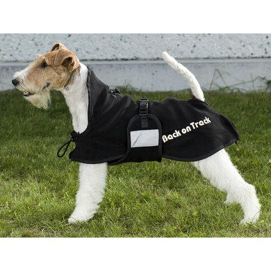 Back on Track Honden Fleecedeken Supreme Black