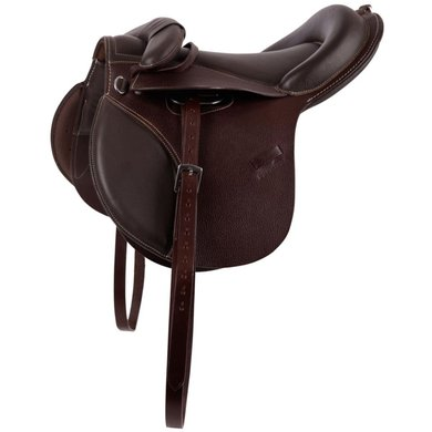 Premiere Saddle Pony Leathers Stirrup Leathers Brown 12inch