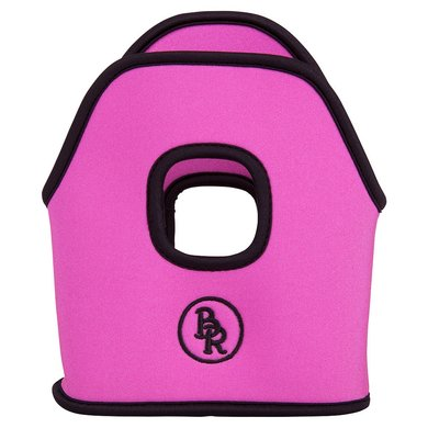 BR Stijgbeugelhoesjes Neopreen Bright Pink 12cm