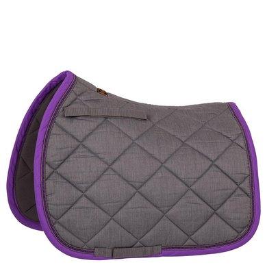 BR Zadeldekje Melange Classic Vz M Grey/Purple