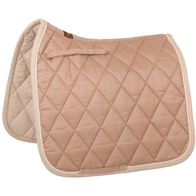 BR Saddlepad Dressage Event Tan Full