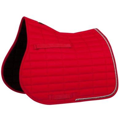 BR Saddlepad General Purpose Glamour Chic Red Full