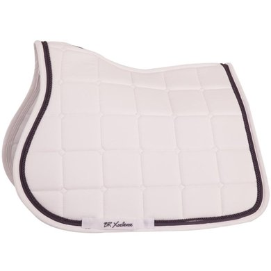 BR Saddlepad General Purpose Xcellence White/Stone Full